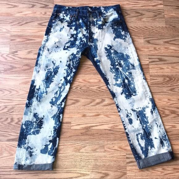 Levi's Other - LEVIS | Bleached 501 Jeans